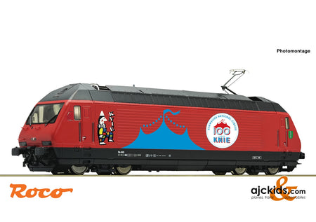 "Roco 70657 - Electric locomotive 460 058-1 ""Circus Knie"""