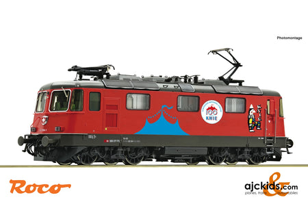 "Roco 71401 - Electric locomotive 420 294-1 ""Circus Knie"""