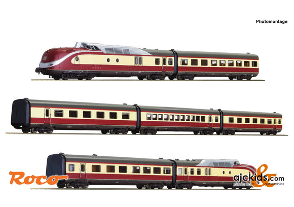 Roco 71935 - 7 piece set: Diesel multiple unit class 601