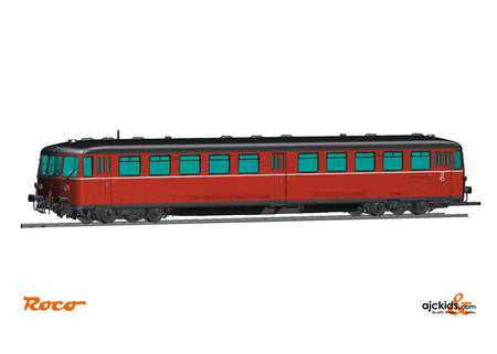 Roco 72081 Accumulator railcar class BR 515 with cab car