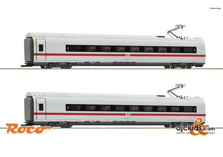 Roco 72096 - 2 piece set: Intermediate coaches class 407