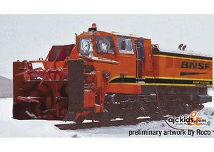 Roco 72806 Beilhack Rotary Snow Blower BNSF
