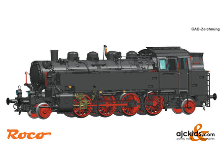 Roco 73024 - Steam locomotive 86.241