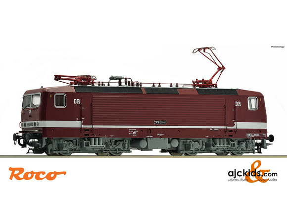 Roco 73063 - Electric locomotive 243 591-5