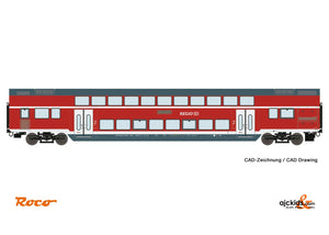 Roco 74145 Double deck car