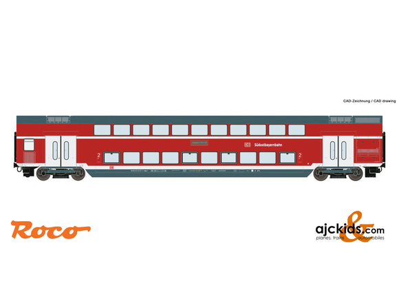 Roco 74157 Double deck car