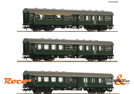Roco 74184 - 3 piece set: Conversion coaches