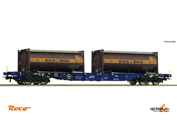 Roco 76737 Container carrier wagon