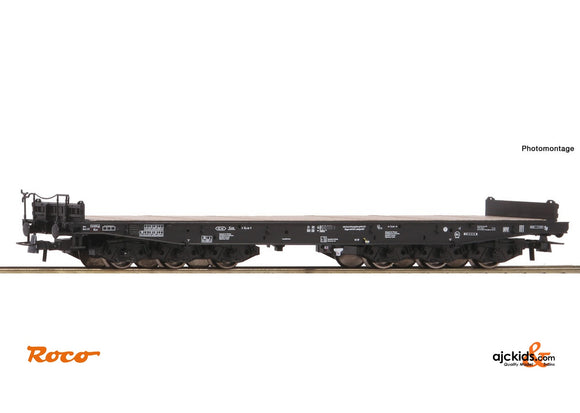 Roco 76758 Heavy duty flat wagon DB