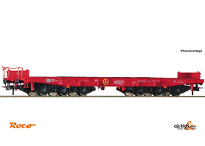 Roco 76825 Heavy duty flat wagon DB-AG