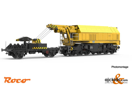 Roco 79035 - Digital railway slewing crane EDK 750