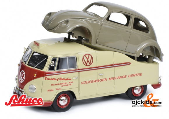 Schuco 450016300 - VW T1a Midlands Centre 1:18