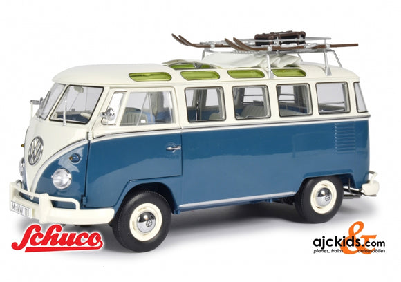 Schuco 450037600 - VW T1 Samba Wintersport 1:18