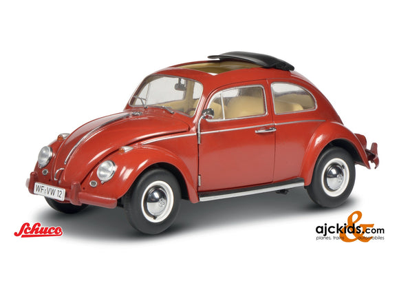 Schuco 450046300 - VW Beetle red 1:12