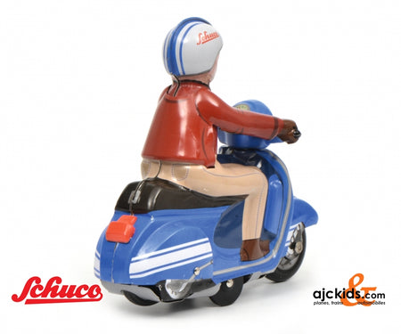 Schuco 450098600 - Scooter-Charly, blau