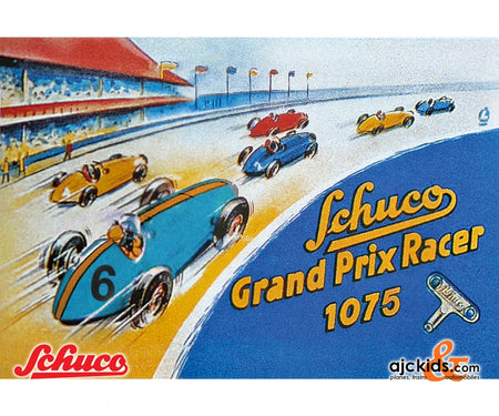 Schuco 450109200 - Grand Prix Racer BS #6