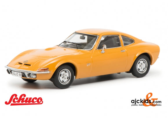 Schuco 450256700 - Opel GT, orange 1:43