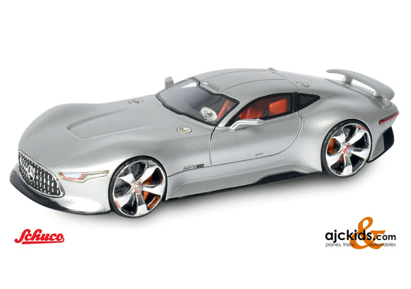 Schuco 452001600 - MB AMG Vision G silver 1:64