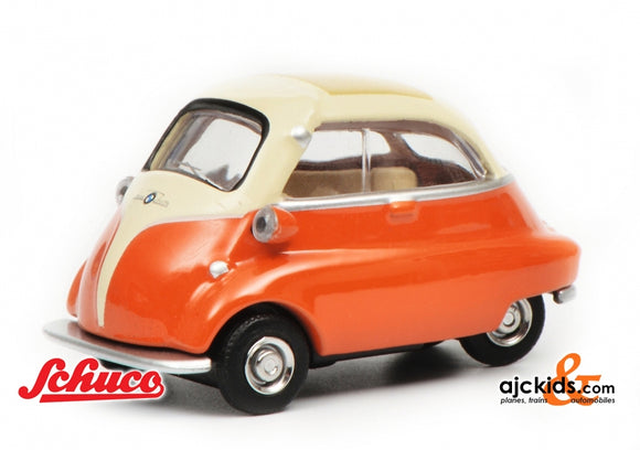 Schuco 452016500 - BMW Isetta, beige/orange 1:64