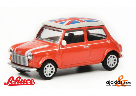 Schuco 452016700 - Mini Cooper Union Jack, 1:64