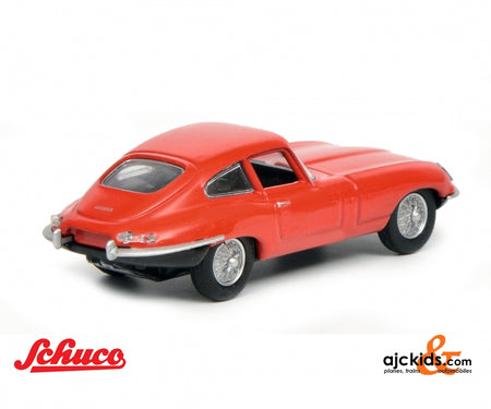 Schuco 452017500 - Jaguar E-Type Coupé, red, 1:64