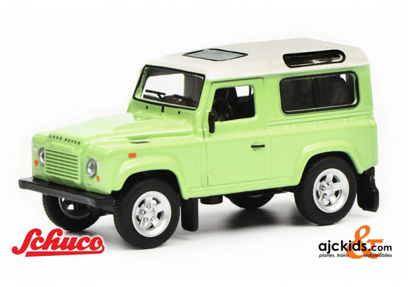 Schuco 452018100 - Land Rover Defender, green white, 1:64