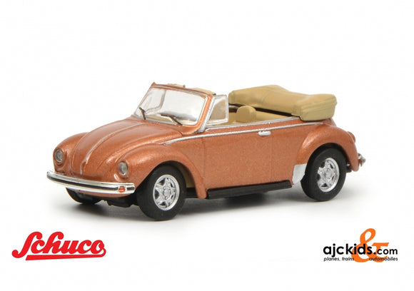 Schuco 452633600 - VW Kaefer convertible, copper 1:87
