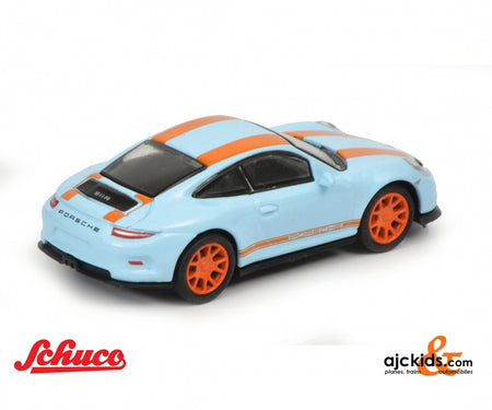 Schuco 452637500 - Porsche 911 R,blau/orange 1:87