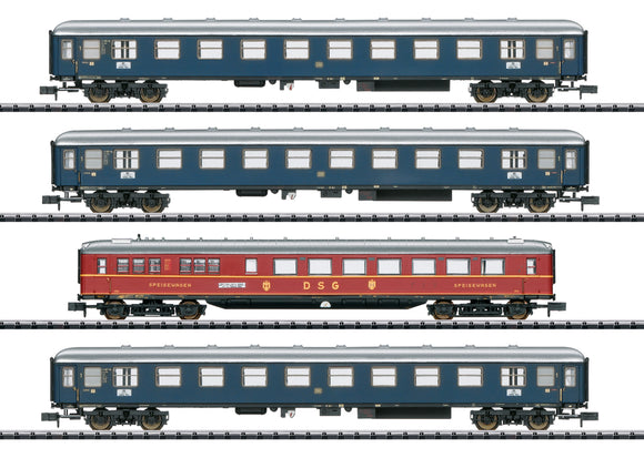 Trix 15132 - MERKUR Express Train Passenger Car Set