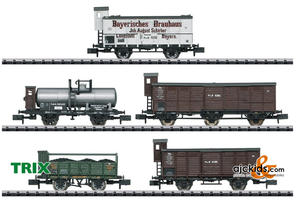 Trix 15284 - Palatinate Freight Car Set