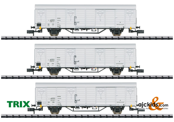 Trix-15316 - Refrigerated Train Freight Car Set