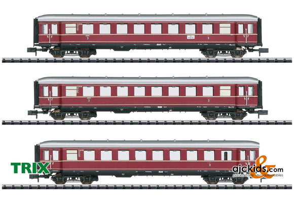 Trix 15405 - The Red Bamberg Cars Car Set, Part 1