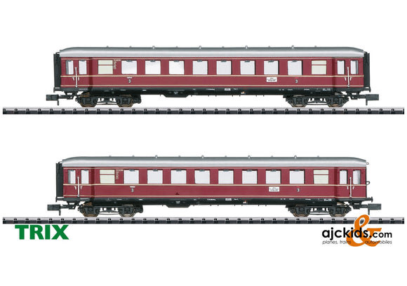 Trix 15406 - The Red Bamberg Cars Car Set, Part 2