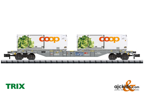 Trix 15470 - Coop® Container Flat Car