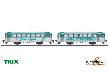 Trix 18903 - Class VB 996 and VB 998 Trailer Car Set