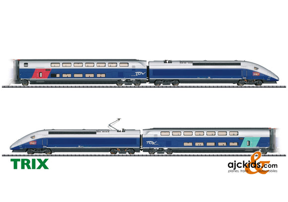 Trix 22381 - TGV Euroduplex High-Speed Train