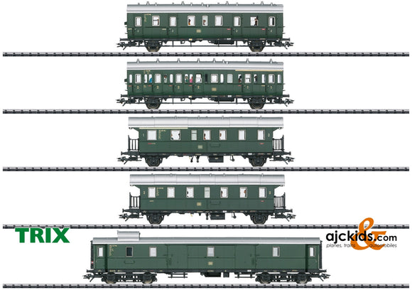 Trix 23458 - Passenger Car Set for the Class E 44.5