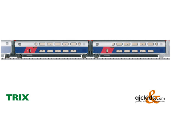 Trix 23487 - Add-On Car Set 1 for the TGV Euroduplex