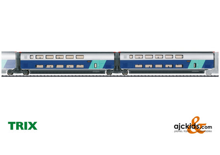 Trix 23488 - Add-On Car Set 2 for the TGV Euroduplex