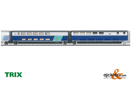 Trix 23489 - Add-On Car Set 3 for the TGV Euroduplex