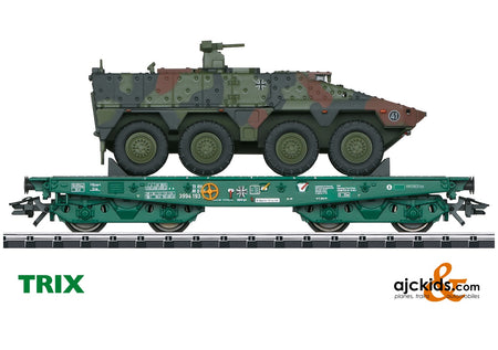 Trix 24224 - Type Rlmmps Heavy-Duty Flat Car