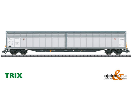 Trix 24554 - Type Hbbins High-Capacity Sliding Wall Boxcar