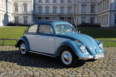 Schuco 452640200 - VW Beetle, blue white, 1:87