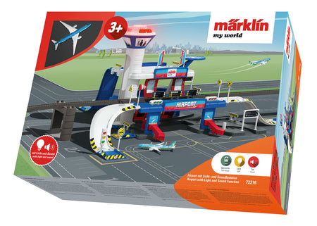 Marklin 72216 - Marklin my world Airport with Light and Sound Function