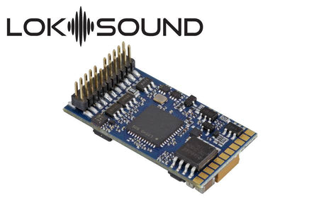 "ESU 58412 - LokSound 5 DCC/MM/SX/M4 ""Blank decoder"", PluX22, Retail, with Speaker 11x15mm, gauge: 0, H0"