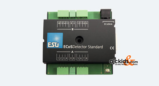 ESU 50096 - ECoSDetector Standard feedback module for 3-digit operation, 16 digtal Inputs, OPTO