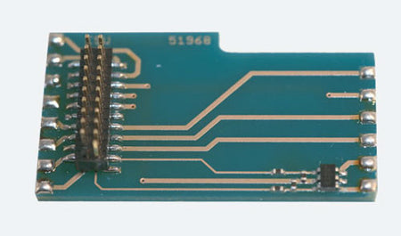 ESU 51968 - Adapter board #2, L-shape as 6090x, NOW WITH with AUX3+AUX4+AUX5+AU