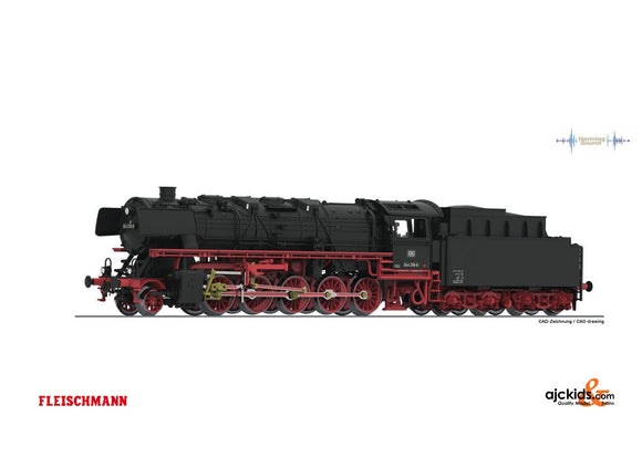 Fleischmann 714471 - Steam loco cl.044+ coal tender DB