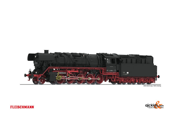 Fleischmann 714472 - Steam loco cl.44.0+ oil tender DR