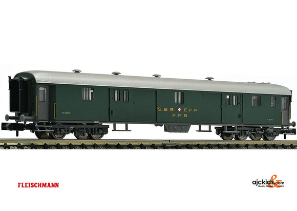 Fleischmann 813005 - Express train luggage coach type D SBB